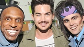 Rock of Ages - Adam Lambert Visit – Andre Ward – Adam Lambert – Tony LePage