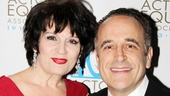 Tony winner Beth Leavel reunites on the carpet with Adam Heller, her former onstage husband in Baby It's You!