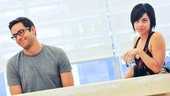 'First Date' Rehearsal — Zachary Levi — Krysta Rodriguez