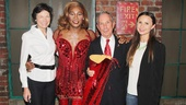 Kinky Boots- Diana Taylor- Billy Porter - Mayor Mike Bloomberg- Georgina Bloomberg