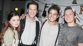Peter and the Starcatcher stars Nicole Lowrance, Rick Holmes and Jason Ralph welcome celebrity guest Jonathan Groff.