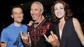 And look who joined them! Bryce Ryness and Kate Loprest rock on with musician Dee Snider, who caught (and loved) the initial preview of First Date.