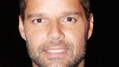 Ricky Martin danced the tango for his recent run in Broadway's Evita, but today he leaves the dancing to the Tango pros.