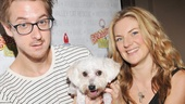 Once's dynamite new stars Arthur Darvill and Joanna Christie don't have dogs of their own, but maybe one of them will adopt this little heart-stealer.