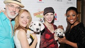 They may not be circus-trained dogs, but do Terrence Mann, Rachel Bay Jones, Charlotte d'Amboise and Patina Miller see potential for future Pippin cast members? (Look out, Porridge!)