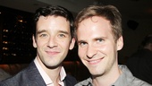 Michael Urie is proud to have Ryan Spahn, his boyfriend (and collaborator on the movie He's Way More Famous Than You) by his side on the big day.