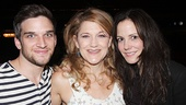 Victoria Clark gets between her upcoming The Snow Geese co-stars, Evan Jonigkeit and Mary-Louise Parker. Don't fret Cinderella fans, Clark will be back in January 2014!