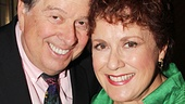 Judy Kaye is all smiles with her husband David Green—Phantom's original Carlotta can thank Hal Prince for her first Tony!
