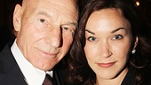 Newlyweds Patrick Stewart and Sunny Ozell, who got married on September 7, take one seriously good snapshot.