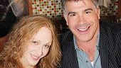 Five-time Tony nominee Jan Maxwell and Mad Men's Bryan Batt are ready to sign autographs.