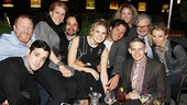 Don't you want to join this crowd? Celia Keenan-Bolger parties with Hunter Bell, Teddy Bergman, Susan Blackwell, Lin-Manuel Miranda, Steven Pasquale, Courtney Balan, John Ellison Conlee, Andrew Keenan-Bolger and Sarah Saltzberg!