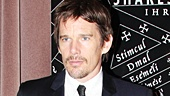The always suave Ethan Hawke sure knows how to dress for a meet and greet! The Reality Bites and Before Sunrise star strikes a pose.