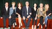 Bebe Neuwirth and her husband Chris Calkins, who are co-diectors of Jerome's Bouquet, are flanked by the 17-minute film's cast, including Peter Scolari, Tracy Shayne, Linda Gabler, Suzanne Shepherd and Halley Wegryn Gross.