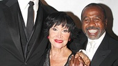 Tommy Tune, Chita Rivera and Ben Vereen beam with happiness as they head to the party at Blue Fin.