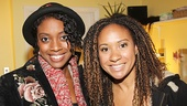 Romeo and Juliet star Condola Rashad catches up Tracie Thoms, her co-star in the 2011 Broadway drama Stick Fly.