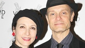 It's a Frasier reunion for Bebe Neuwirth and David Hyde Pierce. (And check out those hats!)
