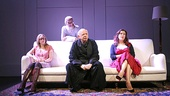 Emily Cass McDonnell as Rose, Julie Hagerty as Cerise, Wallace Shawn as Ben, and Jennifer Tilly as Robin  in  Grasses of a Thousand Colors
