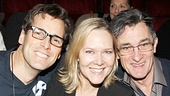 Gypsy judges Hugh Panaro, his former Phantom co-star Rebecca Luker and Roger Rees come together for a cute photo op.