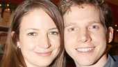 Gemma Clarke gets cozy with her husband, Stark Sands.