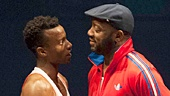 The Loneliness of the Long Distance Runner - Show Photos - Sheldon Best - Malik Yoba - Zainab Jah