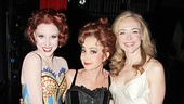 New Pippin star Annie Potts is flanked by Charlotte d'Amboise and Rachel Bay Jones.