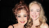 Pippin co-stars Annie Potts and Rachel Bay Jones strike a pose.