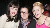 Kinky Boots leading ladies Lena Hall & Annaleigh Ashford with Rosie O'Donnell