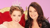 New Cinderella stars Carly Rae Jepsen and Fran Drescher look like royalty on set.