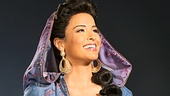 Courtney Reed as Jasmine in Aladdin