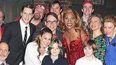 Kinky Boots - Sarah Jessica Parker visits - OP - cast