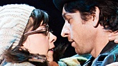 Margo Seibert as Adrian & Andy Karl as Rocky Balboa in Rocky