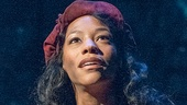 Nikki M. James as Eponine in Les Miserables Photo by Matthew Murphy