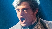 Andy Mientus as Marius in Les Miserables Photo by Michael Le Poer Trench