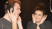 James Snyder & Idina Menzel.