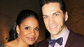 Lady Day star Audra McDonald and her husband Les Miserables star Will Swenson.
