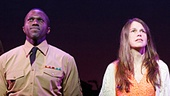 Sutton Foster as Violet,  Joshua Henry as Flick & Colin Donnell as Monty in Violet
