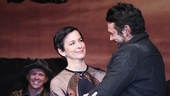 Of Mice and Men director Anna D. Shapiro and star James Franco.