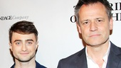 The Cripple of Inishmaan headliner Daniel Radcliffe with director Michael Grandage.