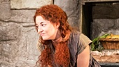 Daniel Radcliffe as Cripple Billy & Sarah Greene as Helen McCormick in The Cripple of Inishmaan