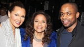 After Midnight co-stars Vanessa Williams and Dule Hill flank actress and dancer Debbie Allen.
