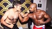Rocky - Backstage - Dr. Oz - OP - 4/14 - Dr. Mehmet Oz - Terence Archie