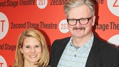 Broadway husband-and-wife duo Celia Keenan-Bolger and John Ellison Conlee.