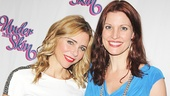 Kerry Butler hangs out with her pal and former Les Miz co-star Rachel York.