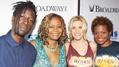 Holler If Ya Hear Me stars Saul Williams and Tonya Pinkins catch up with If/Then's Jenn Colella and LaChanze. See you guys next year!