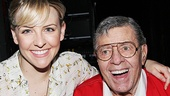 Bullets Over Broadway - Backstage - OP - 6/14 - Helene Yorke  - Jerry Lewis
