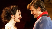 Ismenia Mendes as Hero and Jack Cutmore-Scott as Claudio in Much Ado About Nothing