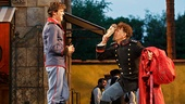 Jack Cutmore-Scott as Claudio & Brian Stokes Mitchell as Don Pedro in Much Ado About Nothing