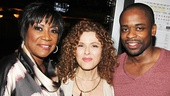 Bernadette Peters with After Midnight co-stars Patti LaBelle and Dule Hill.