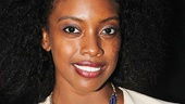 Two-time Tony nominee Condola Rashad hits the red carpet in style.