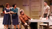 Karen Ziemba as Grace, Brenda Pressley as Luisa,  Joe Lisi as Harry & Jonny Orsini as Johnny in Almost Home